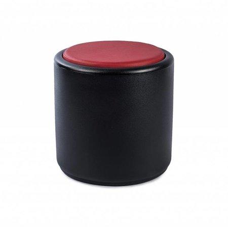 Otium Design Coussin rond rouge Cylindrus design Otium. Applicable au Cylindrus. Commandez en ligne ici! - copie