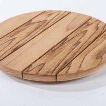 Coussin Cylindrus en bois de cèdre