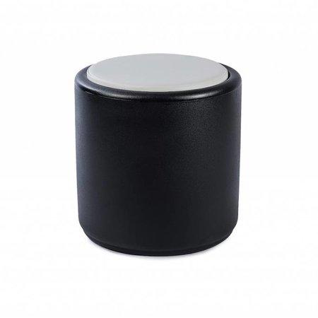 Otium Design Coussin rond Cylindrus White de conception Otium. Applicable au Cylindrus. Commandez en ligne ici!