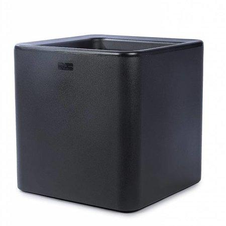 Otium Design Otium Design Qaudris 40. Zwarte vierkante bloembak 44 x 44cm H44cm. Hier online Bestellen!