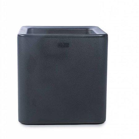 Otium Design Otium Design Qaudris 40. Antraciete vierkante bloembak 44 x 44cm H44cm. Hier online Bestellen!