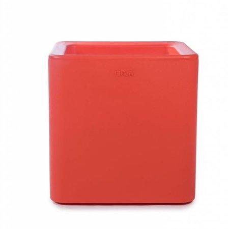 Otium Design Otium Design Qaudris 40. Jardinière carrée orange 44 x 44cm H44cm. Commandez en ligne ici!