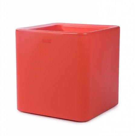 Otium Design Otium Design Qaudris 40. Oranje vierkante bloembak 44 x 44cm H44cm. Hier online Bestellen!