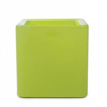 Otium Design Otium Design Qaudris 40. Limoen Groene vierkante bloembak 44 x 44cm H44cm. Hier online Bestellen!