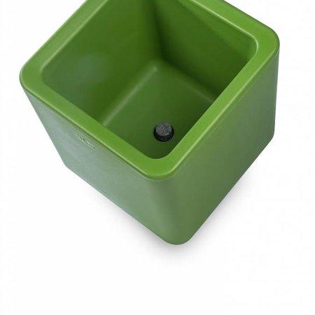 Otium Design Otium Design Qaudris 40. Jardinière carrée vert olive 44 x 44cm H44cm. Commandez en ligne ici!