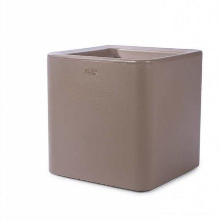 Otium Design Otium Design Qaudris 40. Cappuccino vierkante bloembak 44 x 44cm H44cm. Hier online Bestellen!