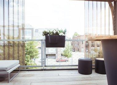 Pots de fleurs extérieurs