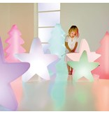 Fleurs Ami Fleur Ami Lumenio Star mini LED - Etoile de Noël unique 51 x 13 H50cm avec éclairage à LED