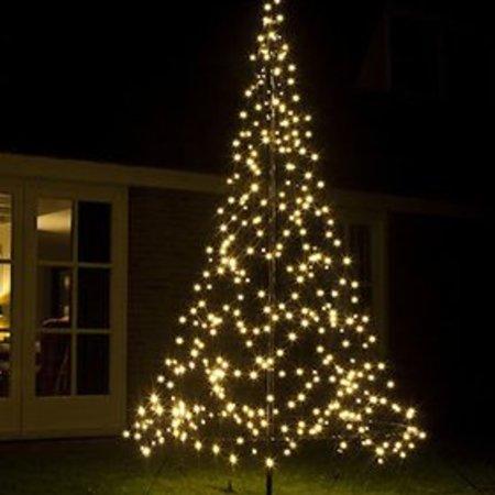 Fairybell Arbre de Noël Fairybell H300cm / 360 LED Lights - Sapin de Noël imposant Dans votre jardin ou votre propriété.