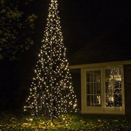 Arbre de Noël Fairybell H420cm / 640 lumières LED - Imposer arbre dans votre jardin ou propriété.