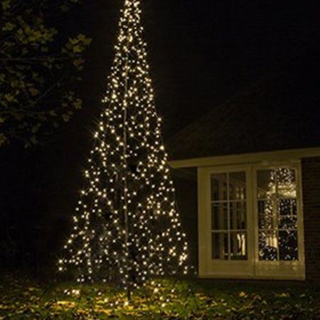 Fairybell Kerstboom H420cm / 640 LED Lampjes - Imposante Kerstboom In uw tuin of pand.