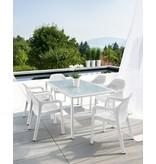 Lechuza Lechuza Tuinset (tafel rechthoek) Optimaal zitcomfort met Lechuza!