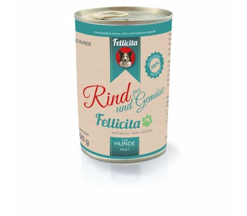 Fellicita Rind & Gemüse 400g