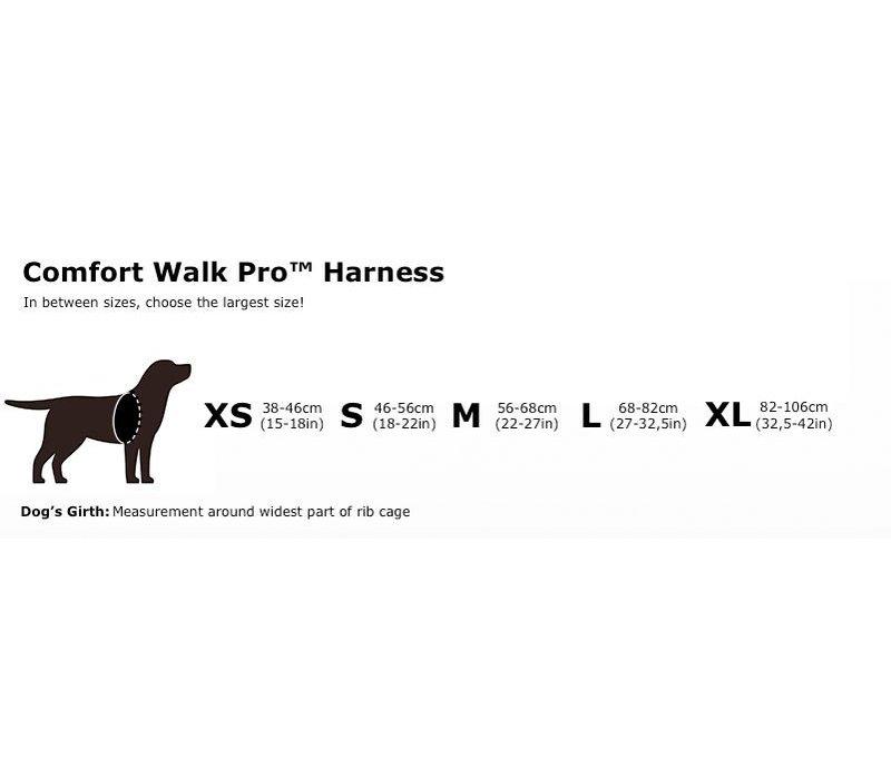 Comfort Walk Pro Harness in verschiedenen Farben und Größen