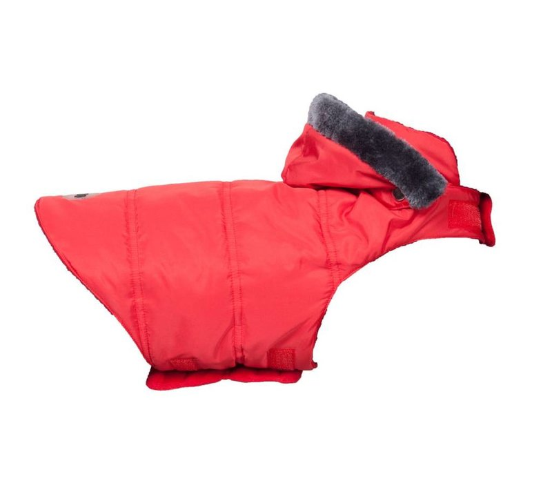Mantel Trendy rot