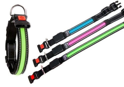 o'LED Halsband mit USB Ladegerät
