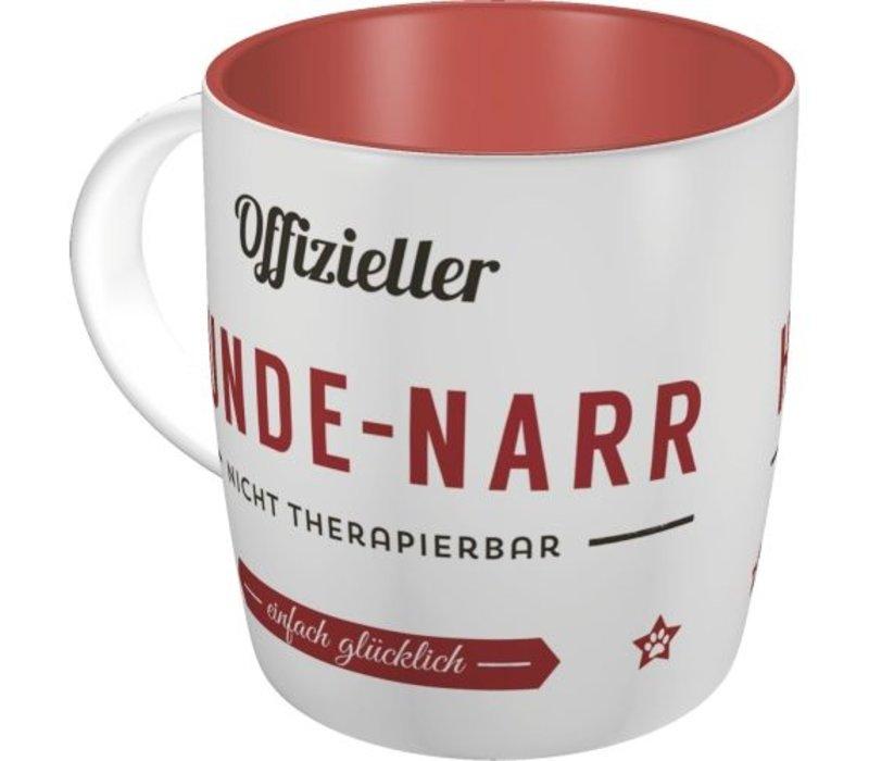 Designer-TASSE: OFFIZIELLER HUNDE-NARR