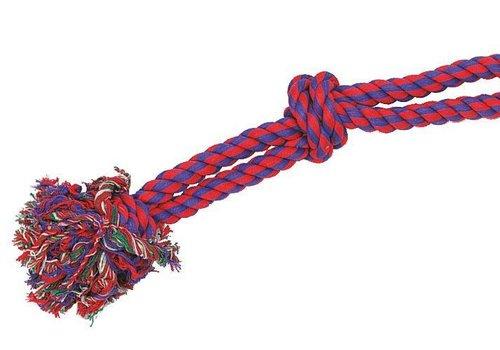 Hunde Spieltau mit Knoten