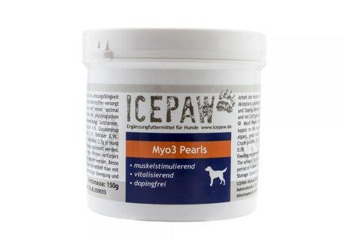 ICEPAW Myo-3-Pearls - Powerperlen zur Unterstützung der Muskulatur Ihres Hundes