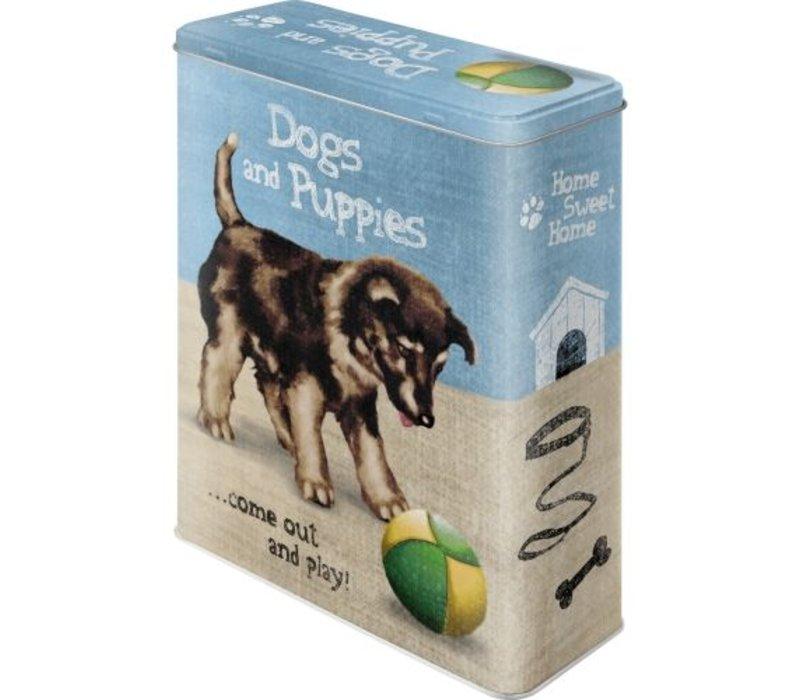 Aufbewahrungsdose Dogs and Puppies