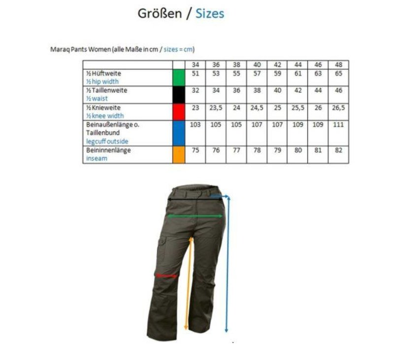 "Outdoor-Hose Pants ""Maraq"" anthrazit"