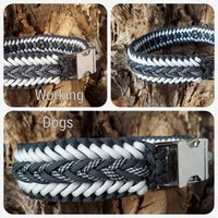 Paracord -Halsband Frenchy