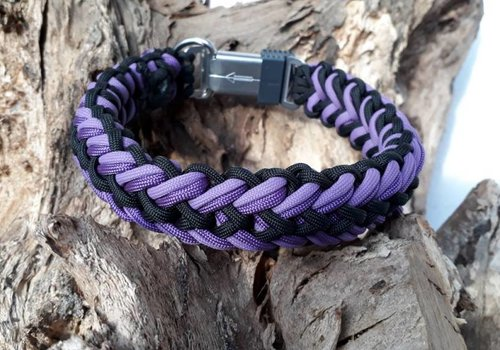 Working Dogs Paracord -Halsband Waterfall