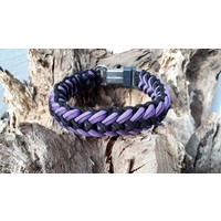 Paracord -Halsband Waterfall