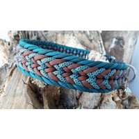 "Paracord -Halsband ""Nature"""
