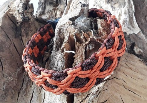 "Working Dogs Paracord -Halsband ""Branca"""