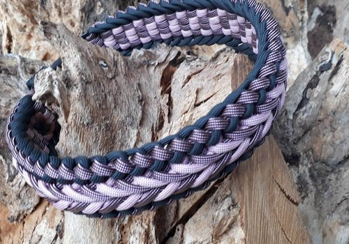 Working Dogs Paracord -Halsband Happiness