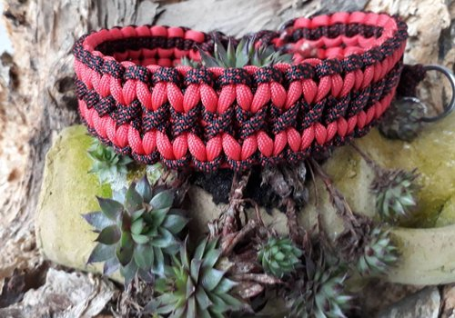 "Working Dogs Paracord -Halsband ""Wavy"""
