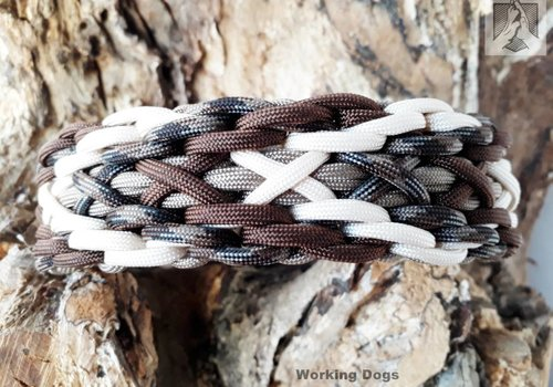 Working Dogs Paracord -Halsband Häuptling Wutz
