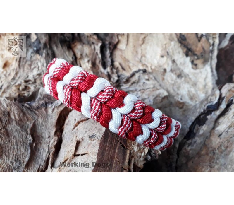 "Paracord -Halsband ""3 COLOR RIVER BAR"""