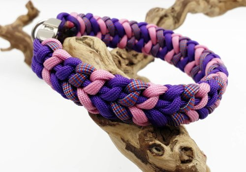 """Working Dogs Paracord -Halsband """"3 COLOR RIVER BAR"""""""