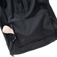 Damen Softshelljacke LUCY in schwarz