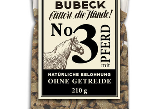 Bubeck No. 3 Pferd 210g