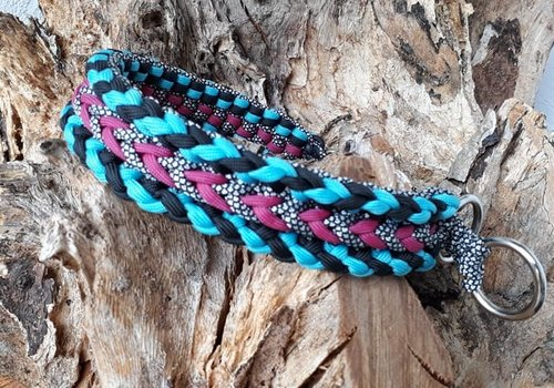 Working Dogs Paracord -Halsband Luna´s Confused