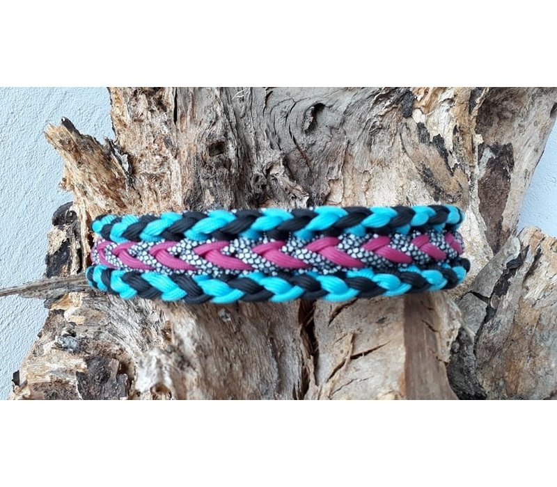 Paracord -Halsband Luna´s Confused