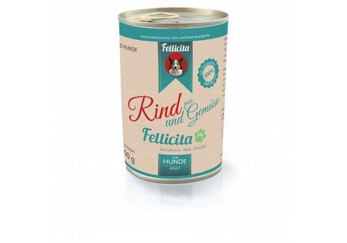 Fellicita Rind & Gemüse  800g
