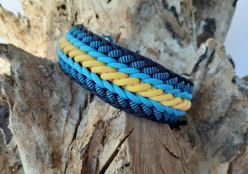 Working Dogs Paracord -Halsband Waterkant