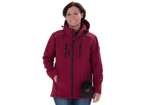 Goodboy Damen Softshelljacke LUCY bordeaux