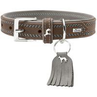 Halsband Lucca walnuss/grau