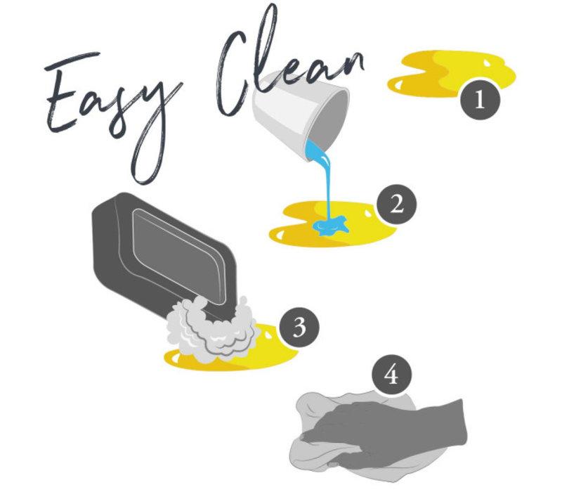 Hundesofa Prag Easy Clean grau
