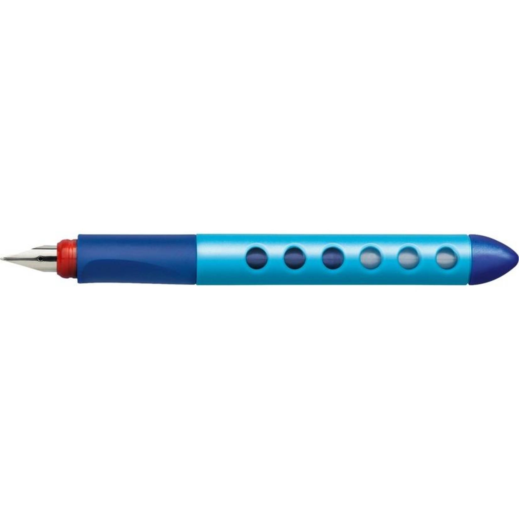 Faber-Castell SCRIBOLINO Schulfüllhalter blau Linkshänder