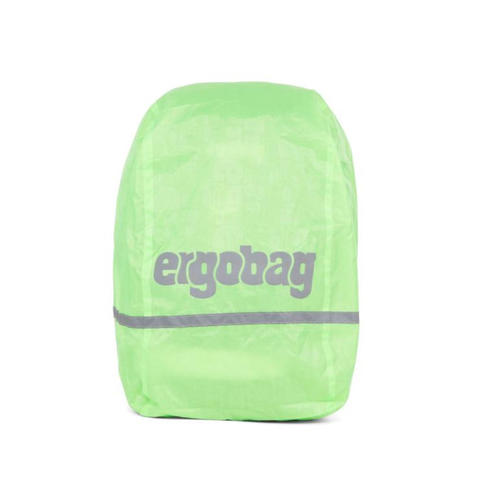 ERGOBAG Ergobag REGENCAPE reflek+flour Shiny green 17