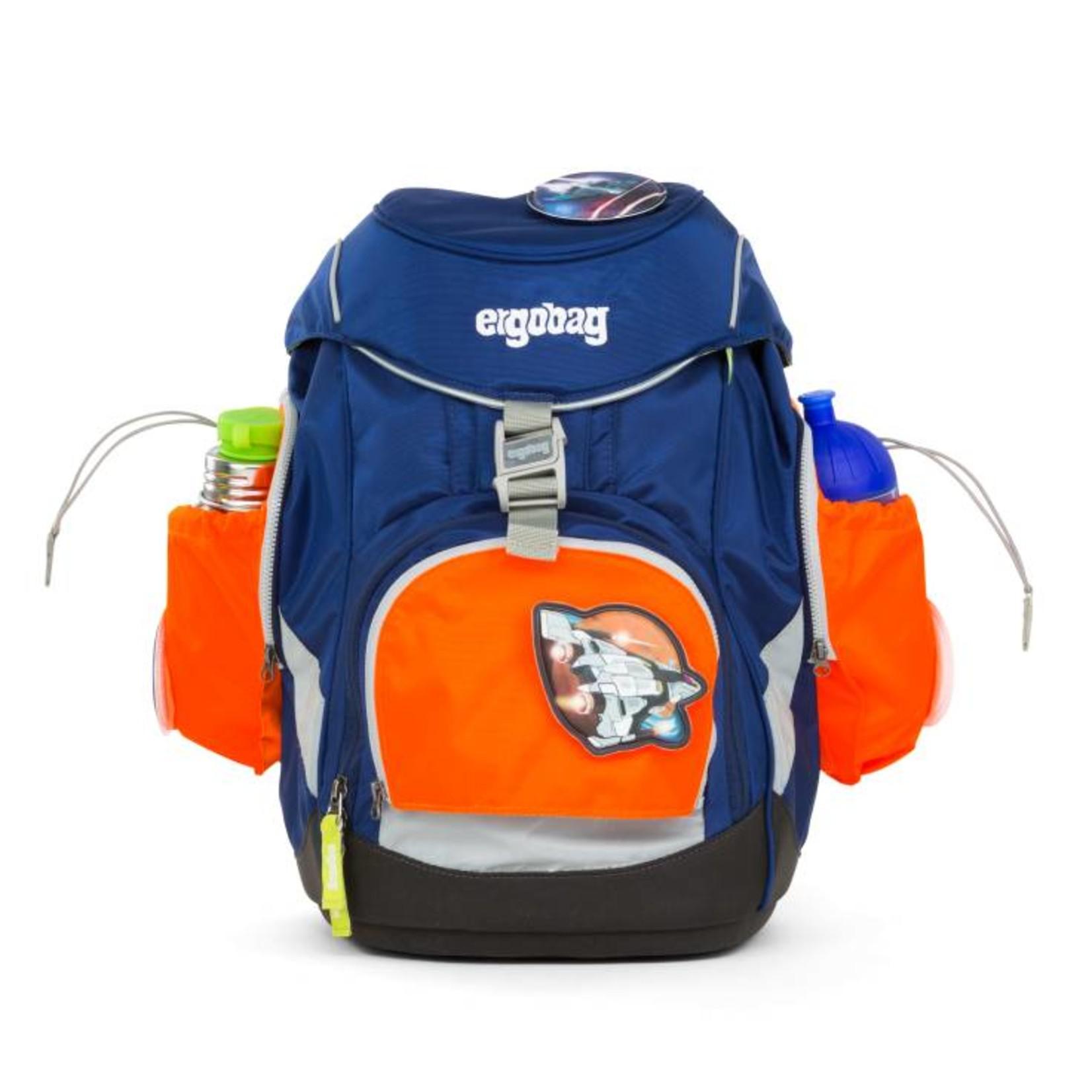 ERGOBAG ERGOBAG PACK Seitentaschen ZIP SET 3tlg orange
