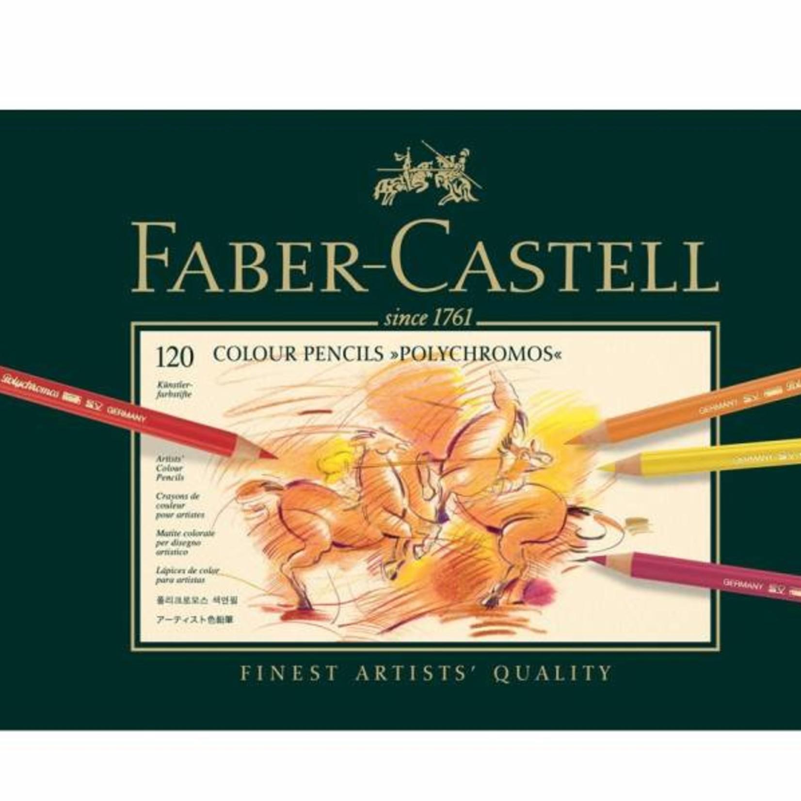 Faber-Castell Faber Castell Polychromos 120Stk in Metallbox