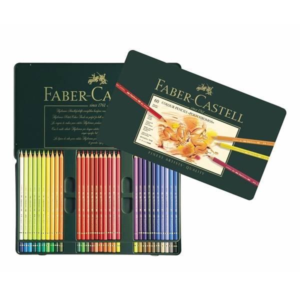 Faber-Castell Faber Castell Polychromos 60 STK im Metalletui