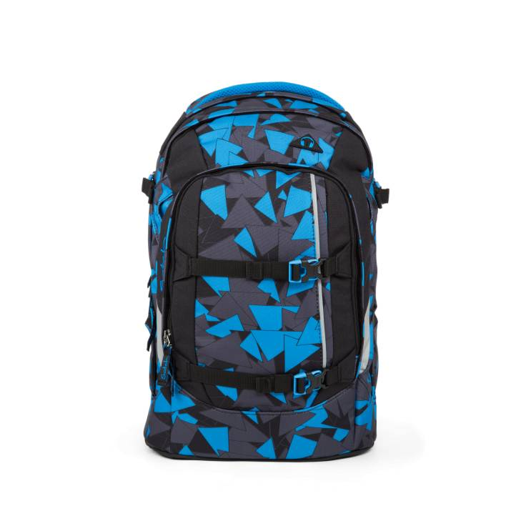 SATCH PACK Schulrucksack Blue Triangle Dreiecke Blau